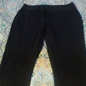 Maurices black IAm Smart pants